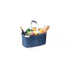 Nákupní košík skládací SHOP! denim