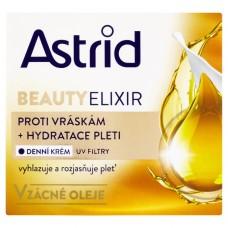 Astrid Beauty Elixir hydratační denní krém proti vráskám s UV filtry