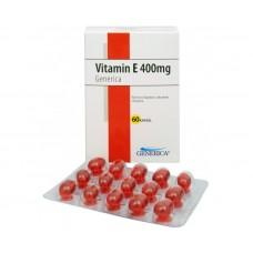 Vitamín E 400 mg 60 kapslí