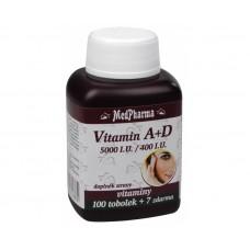 Vitamín A + D 100 tob. + 7 tob. ZDARMA
