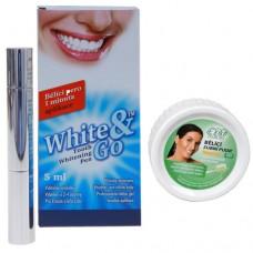Whitening Pen - bělící zubní pero 5 ml + EVA bělící zubní pudr 25 g ZDARMA