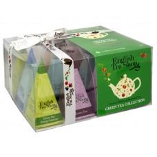 Dárková kolekce 12 pyramidek Zelený čaj 4 příchutě