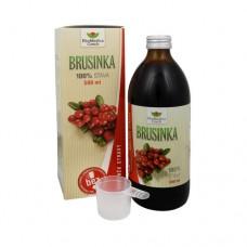 Brusinka - 100% šťáva z brusinky 500 ml