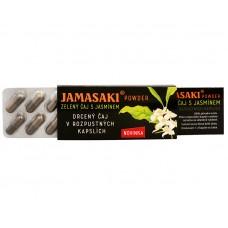 Jamasaki powder - zelený jasmínový a červený čaj - cestovní balení 10 x 1 g