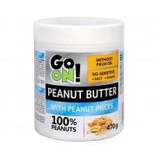 GO ON! Arašídové máslo s kousky arašídů 470 g