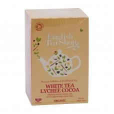 English Tea Shop bílý čaj s liči a kakaem