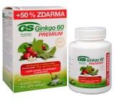 GS Ginkgo 60 Premium 60 tbl. + 30 tbl. ZDARMA