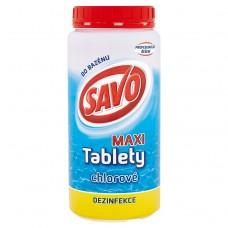 Savo Maxi tablety chlorové do bazénu