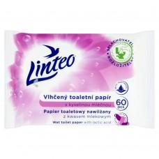 Linteo vlhčený toaletní papír s kyselinou mléčnou