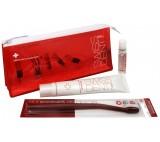 Červený set pro péči o zuby Emergency Kit