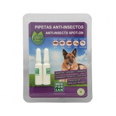 Menforsan antiparazitní pipety pro psy (100% Natural Repellent Anti-parasite Spot on for Dogs)