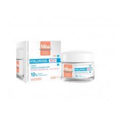 Mixa Hyalurogel Rich 24h intenzivní hydratační krém pro citlivou pleť