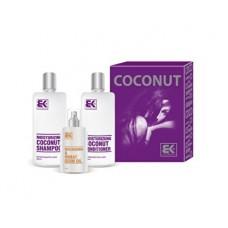 Brazil Keratin Coconut Set dárková sada pro suché a poškozené vlasy