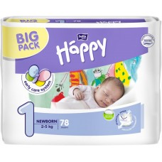 Bella Happy Newborn 1 pleny, 2–5 kg