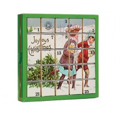 Adventní kalendář 25 kostek - Radostné Vánoce