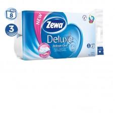 Zewa deluxe delicate care - toaletní papír, bez parfemace, bílý 3vrstvý