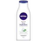 Nivea Aloe Hydration lehké tělové mléko
