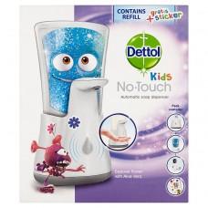 Dettol Kids bezdotykový dávkovač mýdla a náplň Dobrodruh
