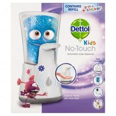 Dettol Kids bezdotykový dávkovač mýdla s nápní dobrodruh