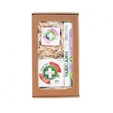 Dárkové balení pro těžké nohy - Varicann Q10 + Cremcann Q10 50 ml + Lipsticann 15 ml + Balcann 15 ml