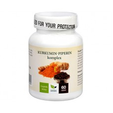 Natural Medicaments Kurkumin-piperin komplex 60 tablet
