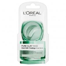 L'Oreal Paris Pure Clay čisticí zmatňující maska