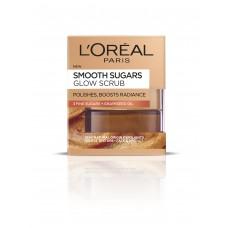 L'Oréal Paris Smooth Sugars Glow Scrub s hroznovým olejem