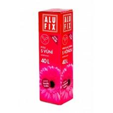Alufix odpadkové pytle zatahovací s vůní kouzlo květů, 40 l