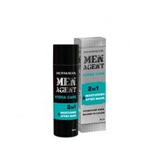 Dermacol Men Agent  hydratační gelový krém a balzám po holení