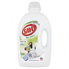 SAVO prací gel barevné i bílé prádlo 50 praní