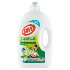 Savo na barevné i bílé prádlo prací gel, 50 praní