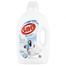 SAVO prací gel bílé prádlo 50 praní