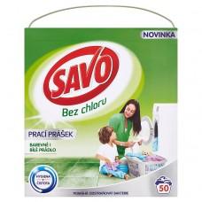 Savo prací prášek na barevné i bílé prádlo, 50 praní