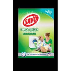 Savo na barevné i bílé prádlo prací prášek , 70 praní