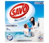 SAVO prací prášek bílé prádlo 20 praní