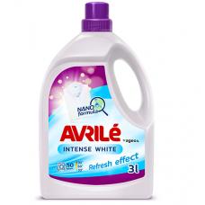 Avrilé Intense White prací gel na bílé prádlo, 50 praní