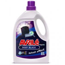 Avrilé Deep Black prací gel na černé prádlo, 50 praní