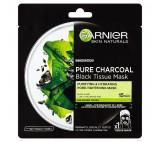 Garnier Pure Charcoal černá textilní maska s extraktem zmořských řas