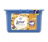 Lenor Silk Orchid 3v1 gelové kapsle, 14 praní
