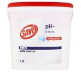 SAVO do bazénu pH- snížení hodnoty pH