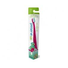 Dětský zubní kartáček soft - růžový