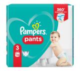 Pampers Pants plenkové kalhotky 3 (6 - 11 kg)