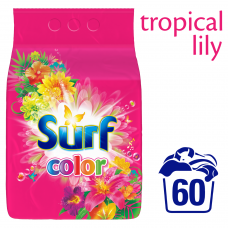 Surf Color Tropical prací prášek, 60 praní