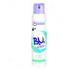 B.U. In Action 0  % ZERO deodorantve spreji