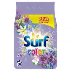 Surf Color Iris prací prášek na barevné prádlo, 60 praní