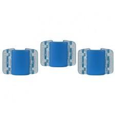 Linziclip malý skřipec MINI 3 ks - matně modrý