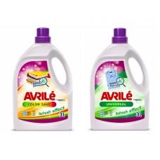 AVRILÉ prací gely Color Save + Universal, 50 praní