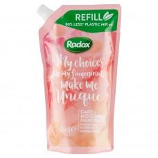Radox tekuté mýdlo s antibakteriální složkou Care+ Moisturise náhradní náplň
