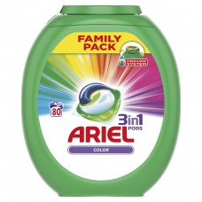Ariel Color gelové kapsle, 80 praní