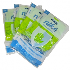 Vulkan niké gumové rukavice zelené